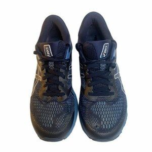 Asics Mens Navy Blue Sneakers Running Shoes  10